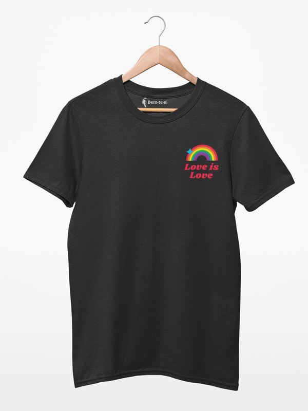 Camiseta Love Is Love