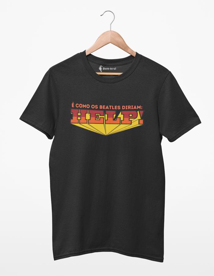 Camiseta The Beatles - Help