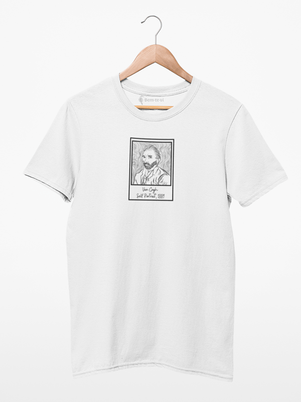 Camiseta Van Gogh Autorretrato