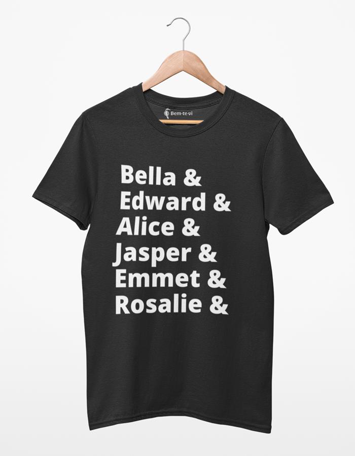 Camiseta Crepúsculo/Twilight Personagens