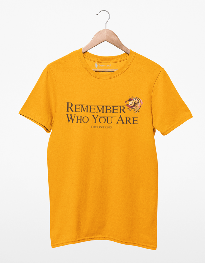 Camiseta Remember Who You Are