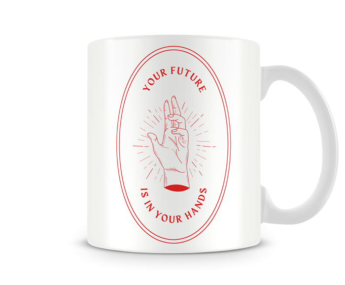 Caneca Future is in your Hands