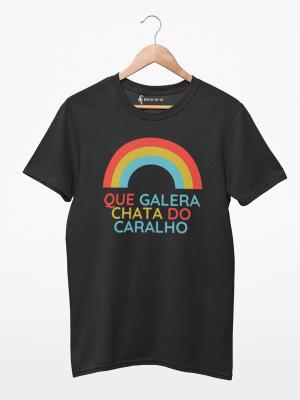 Camiseta Galera Chata