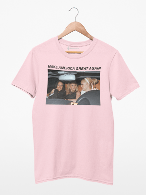 Camiseta Make America Great Again - Paris, Britney e Lindsay