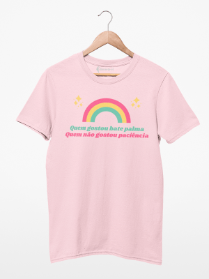 Camiseta Quem Gostou Bate Palma