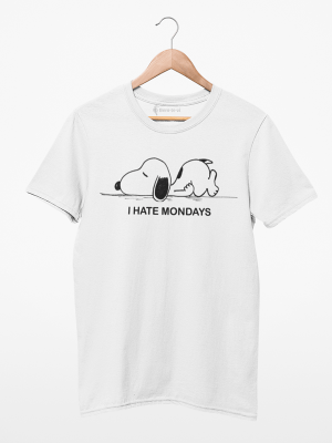 Camiseta Snoopy Hate Mondays