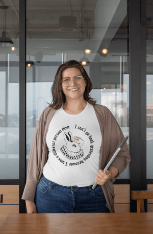 Camiseta Alice No País Nas Maravilhas