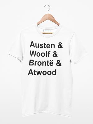 Camiseta Autoras Femininas