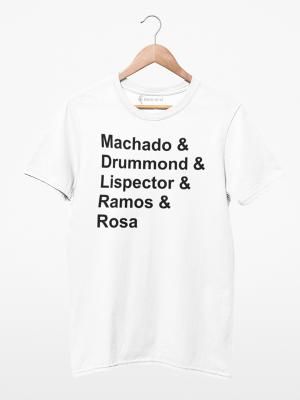 Camiseta Autores Brasileiros