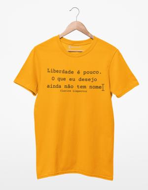 Camiseta Clarice Lispector - Liberdade