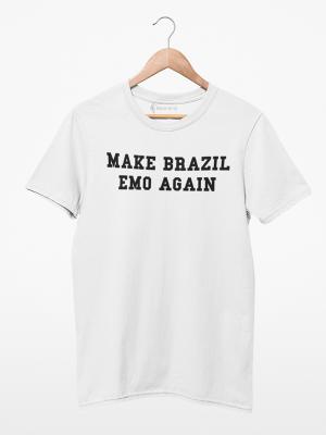 Camiseta Make Brazil Emo Again