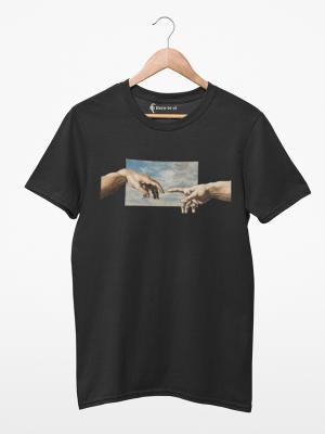 Camiseta A Criação de Adão