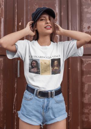 Camiseta Leonardo Da Vinci