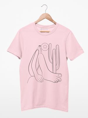 Camiseta Tarsila do Amaral  Abaporu Minimalista