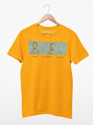 Camiseta Van Gogh, Van Goghing, Van Gone