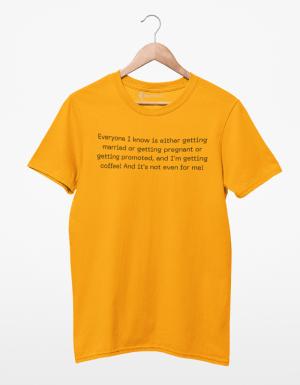 Camiseta Getting Coffee