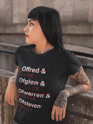 Camiseta Handmaid's Tale Personagens