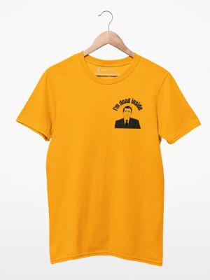 Camiseta The Office I'm Dead Inside Minimalista
