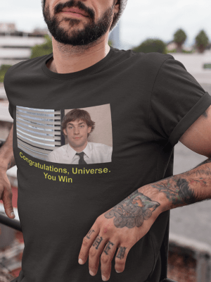 Camiseta The Office Jim