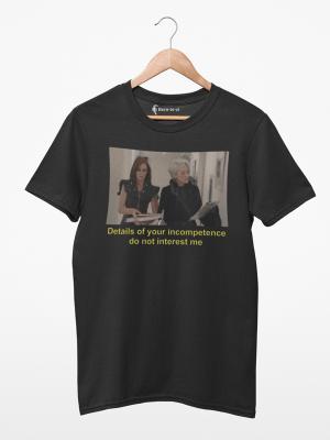 Camiseta Diabo Veste Prada Details Of Your Incompetence