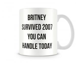 Caneca Britney 2007