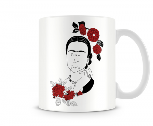 Caneca Frida Kahlo - Viva la Vida