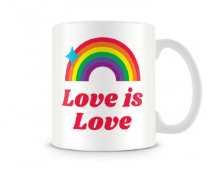 Caneca Love is Love