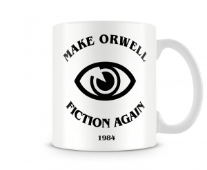 Caneca Make Orwell fiction again