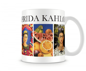 Caneca Obras de Arte - Frida Kahlo
