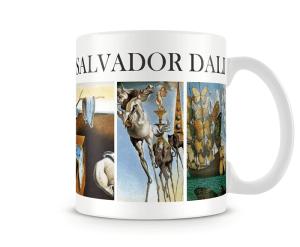 Caneca Obras de arte - Salvador Dali