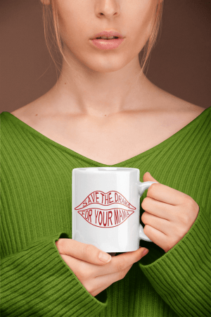 Caneca Save the drama for your mama