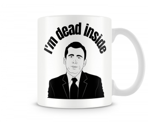 Caneca The Office - Dead inside