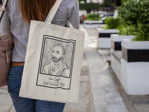 Ecobag Obras de arte - Van Gogh Polaroid